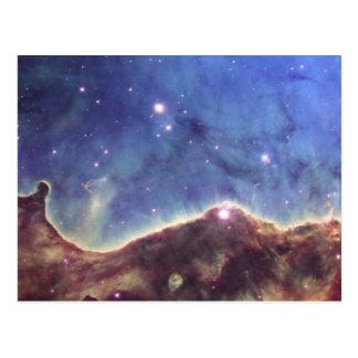 NGC 3324 Keyhole nebula in Carina Postcard