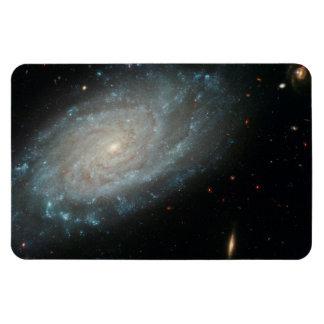 NGC 3370, deep space, spiral galaxy Rectangular Photo Magnet