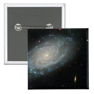 NGC 3370, espacio profundo, galaxia espiral Pin Cuadrado
