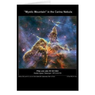 """NGC-3372 """"Mystic Mountain"""" Card"""