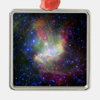 NGC 346 Cluster and nebula in Tucana Metal Ornament