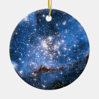 NGC 346 Infant Stars Ceramic Ornament