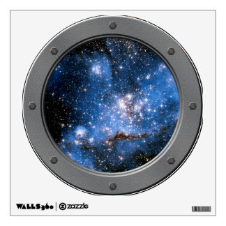 NGC 346 Infant Stars Porthole Space View Wall Decal