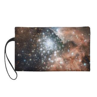 Ngc 3603 Emission Nebula Wristlet Clutch