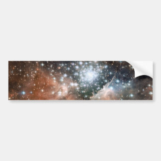 Ngc 3603 Emission Nebula Bumper Stickers