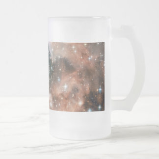 Ngc 3603 Emission Nebula Frosted Glass Beer Mug