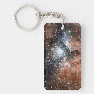 Ngc 3603 Emission Nebula Acrylic Keychain
