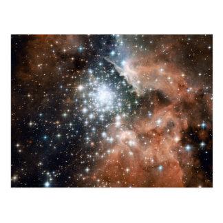 Ngc 3603 Emission Nebula Postcard