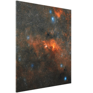 NGC 3603 Open Star Cluster Canvas Print