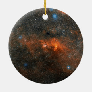 NGC 3603 Open Star Cluster Christmas Tree Ornaments