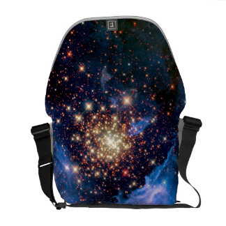 NGC 3603 Star Cluster - NASA Hubble Space Photo Courier Bag