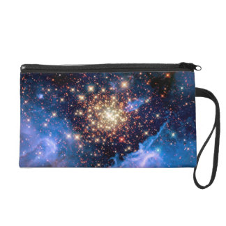NGC 3603 Star Cluster Wristlet Purse