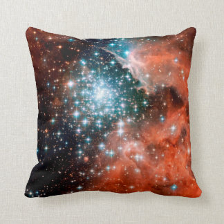 NGC 3603 Star Forming Region Throw Pillow