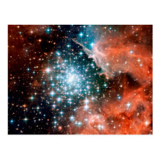 NGC 3603 Star Forming Region Post Card