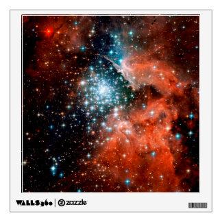 NGC 3603 Star Forming Region Wall Sticker