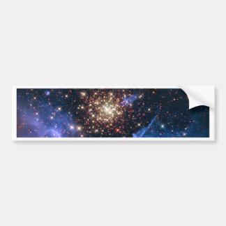 NGC 3603 super star cluster NASA Bumper Sticker