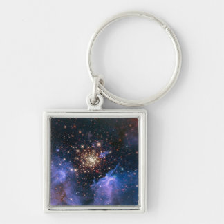 NGC 3603 super star cluster NASA Keychain