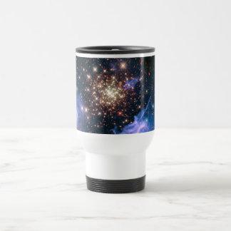 NGC 3603 super star cluster NASA Travel Mug