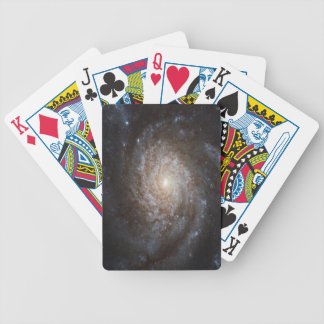 NGC 3810 Spiral Galaxy Bicycle Playing Cards