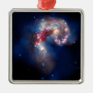 NGC 4038 Antennae Galaxies NASA Metal Ornament
