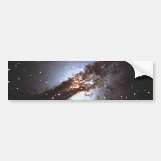 NGC 5128  Centaurus A Galaxy NASA Bumper Sticker
