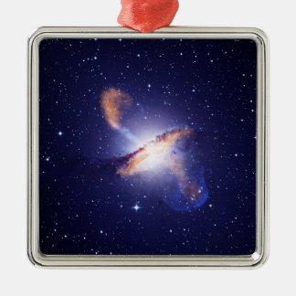 NGC 5128  Centaurus A Galaxy NASA Metal Ornament