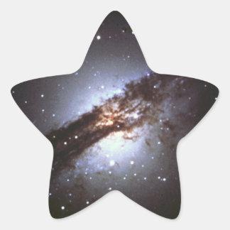 NGC 5128  Centaurus A Galaxy NASA Star Sticker