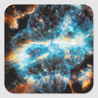 NGC 5189 Planetary Nebula Square Sticker