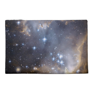 NGC 602 bright stars Travel Accessory Bags