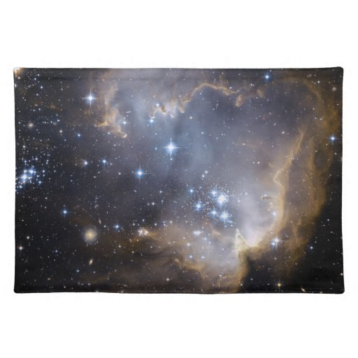 NGC 602 bright stars Cloth Placemat