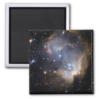 NGC 602 bright stars in the Milky Way Refrigerator Magnet