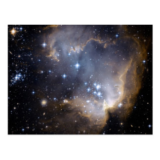 NGC 602 bright stars in the Milky Way Postcard