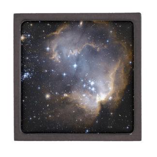 NGC 602 bright stars NASA Keepsake Box