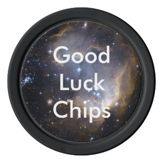 NGC 602 bright stars Poker Chips Set