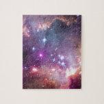 NGC 602: Cúmulo de estrellas, pequeña nube de Mage Puzzles Con Fotos