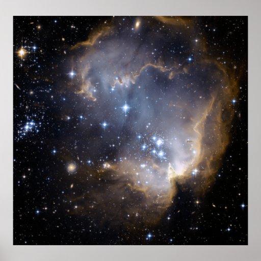 NGC 602, N90 IMPRESIONES