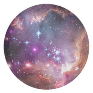 NGC 602 Star Cluster Small Magellanic Cloud Dinner Plate