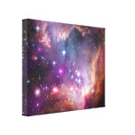 NGC 602: Star Clusters, Small Magellanic Cloud Gallery Wrapped Canvas