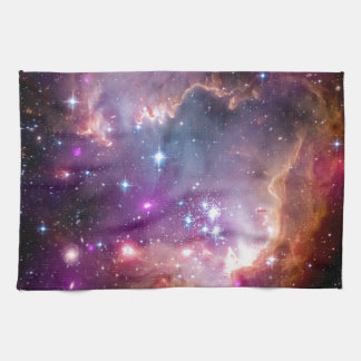 NGC 602 Star Formation - NASA Hubble Space Photo Kitchen Towel