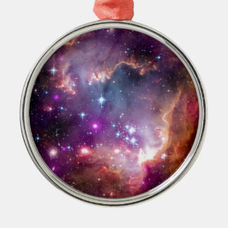 NGC 602 Star Formation - NASA Hubble Space Photo Metal Ornament