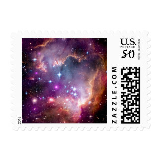 NGC 602 Star Formation - NASA Hubble Space Photo Postage