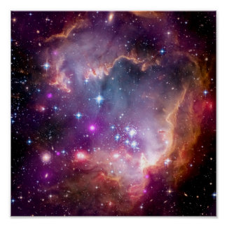 NGC 602 Star Formation Poster