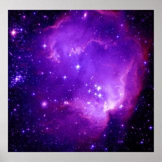 NGC 602 y más allá Poster
