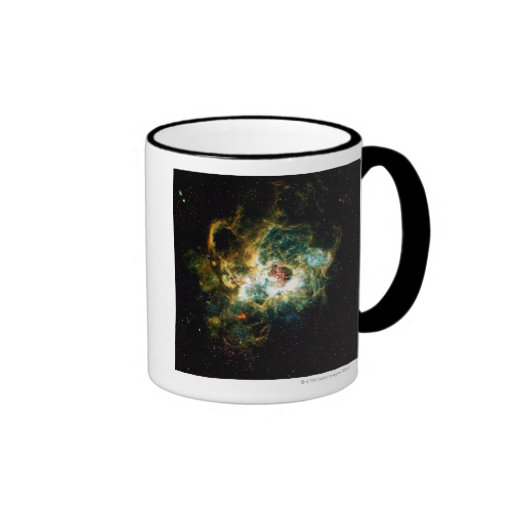 NGC 604 en la galaxia M33 Tazas De Café