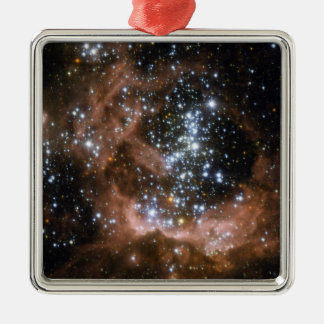 NGC 604 Galactic brown star clouds Metal Ornament