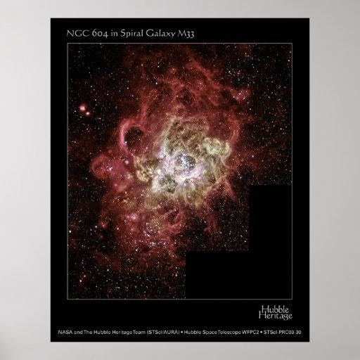 NGC 604 POSTER