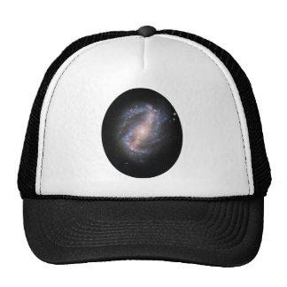 NGC-6217 Barred Spiral Galaxy Mesh Hat