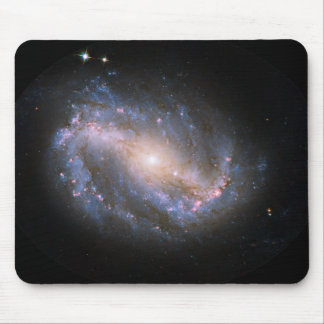 NGC-6217 Barred Spiral Galaxy Mouse Pad