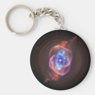 NGC 6543: The Cat's Eye Nebula Keychain