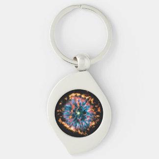 NGC 6751 Planetary Nebula Keychain